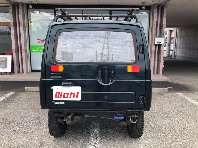 ワイルドウインドリミテッド 切り替え4WD 社外ハンドル(3枚目)