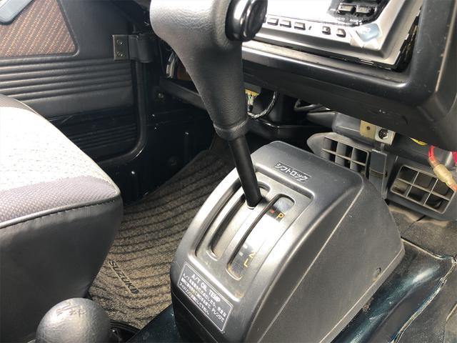 ワイルドウインドリミテッド 切り替え4WD 社外ハンドル(11枚目)