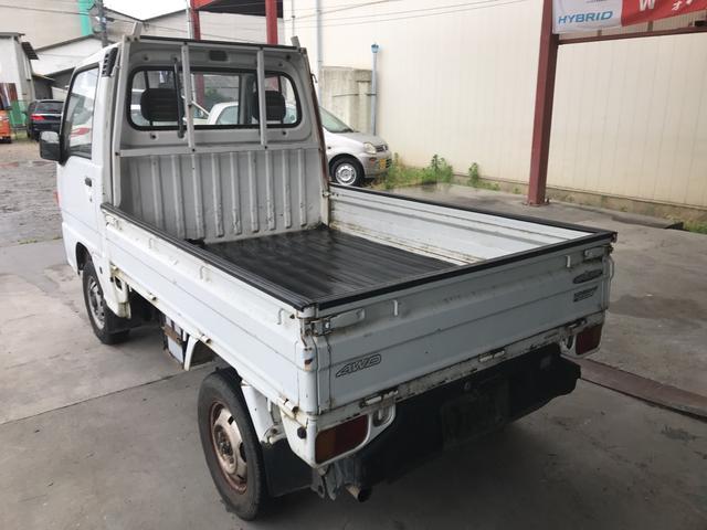 4WD 5M軽トラック 2名乗り ホワイト まだ6万キロ!(7枚目)