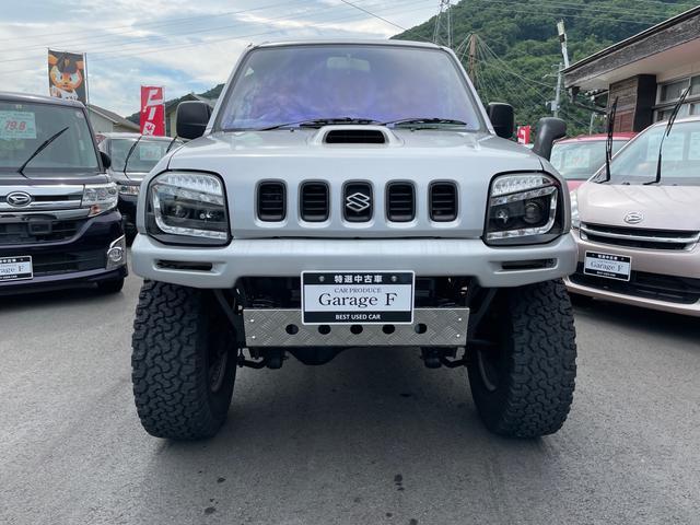 XL リフトアップ 3インチ MT ターボ 4WD 社外マフラー 社外ホイール シーケンシャルシャークヘッドライト 社外テール(2枚目)