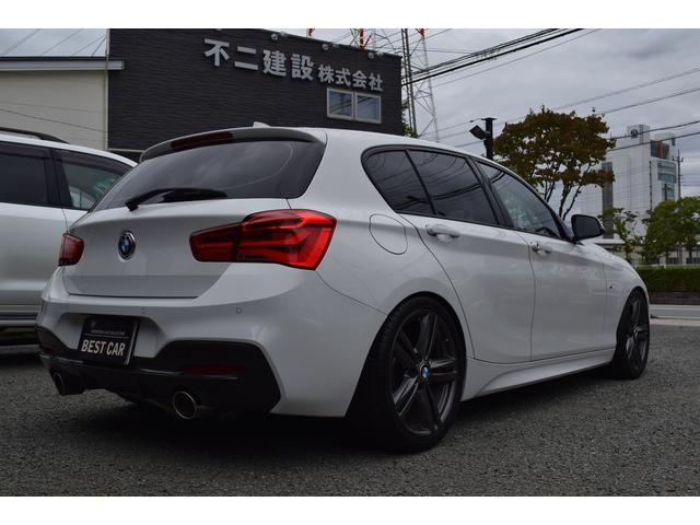 118i Mスポーツ 純正マルチ フロント・リアスポイラー 車高調(8枚目)