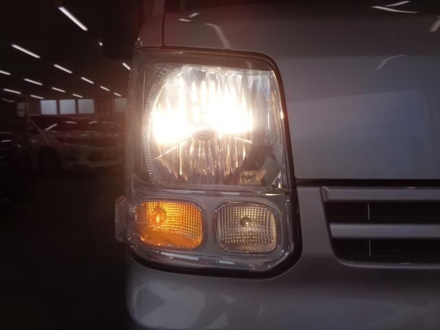 DX 5速マニュアル 4WD ワンオーナー 純正オーディオ 保証書&取扱説明書有 スペアキー有 ハイルーフ ダブルエアバッグ ドアバイザー 禁煙 2020年製スタッドレス ライトレベライザー(31枚目)