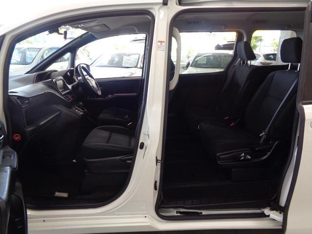 ハイブリッドG 7人乗 シートヒーター おくだけ充電 Bluetooth対応メモリーナビ バックカメラ フルセグTV DVD ETC 電動スライドドア クルコン 天井スピーカー LEDオートライト スペアキー 禁煙車(20枚目)