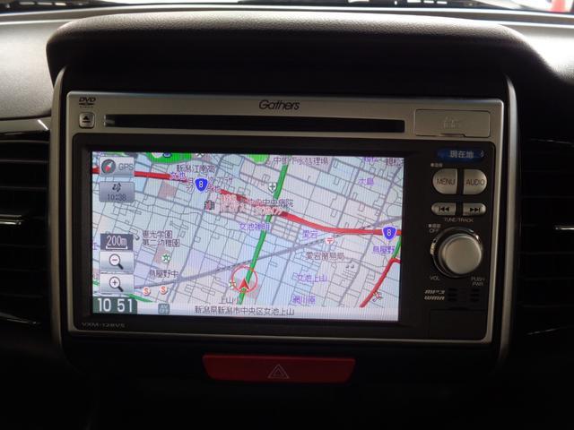 G・Lパッケージ 4WD 禁煙車 メモリーナビ&CD・DVD再生&USB接続&SD&ワンセグTV パワースライドドア  HIDオートライト&フォグ スマートキー ミラーヒーター オートエアコン エアロ 純正14AW(6枚目)