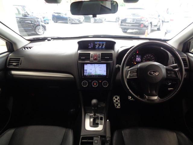 2.0i-L アイサイト 4WD 衝突軽減&追従クルコン&レーンキープ 電動レザーシート&シートヒーター 冬タイヤAWセット OPスキットプレート SDナビ&フルセグ&DVD&音楽録音&バックカメラ スマートキー HIDライト(2枚目)