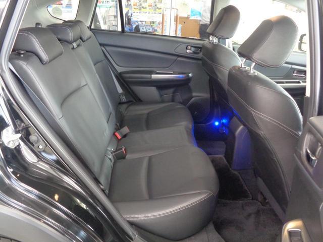 2.0i-L アイサイト 4WD 衝突軽減&追従クルコン&レーンキープ 電動レザーシート&シートヒーター 冬タイヤAWセット OPスキットプレート SDナビ&フルセグ&DVD&音楽録音&バックカメラ スマートキー HIDライト(35枚目)