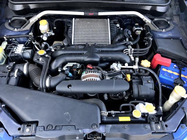ts 300台限定車 STI特別仕様 4WD ターボ ワンオーナー パワーシート クルーズコントロール ナビ フルセグTV バックカメラ 後席モニター ETC記録簿(26枚目)