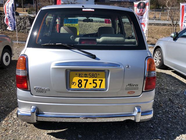 「ダイハツ」「ミラジーノ」「軽自動車」「長野県」の中古車6