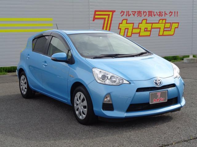 「トヨタ」「アクア」「コンパクトカー」「長野県」の中古車3