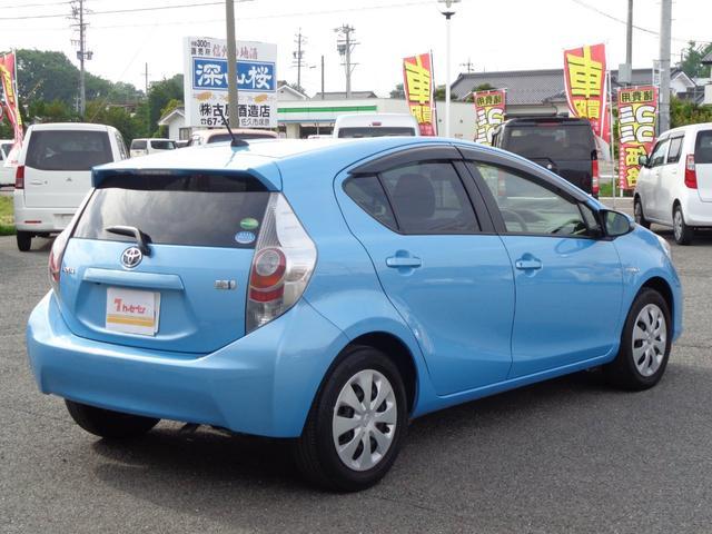 「トヨタ」「アクア」「コンパクトカー」「長野県」の中古車5