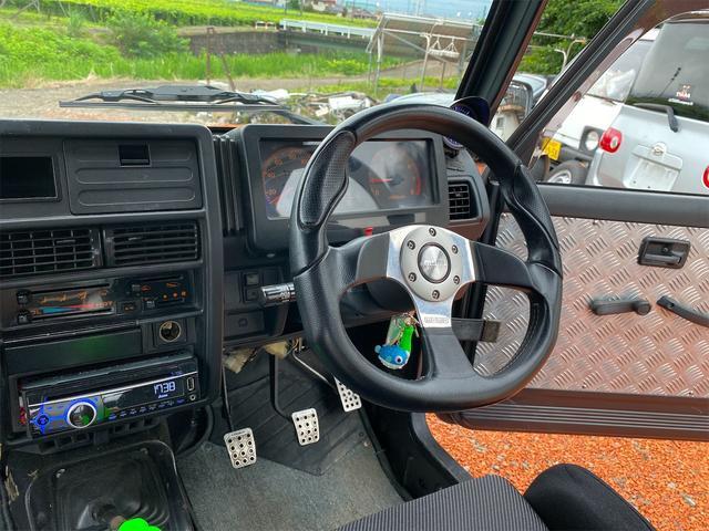 HC 4WD キタガワ3インチリフトアップ レカロシート(15枚目)
