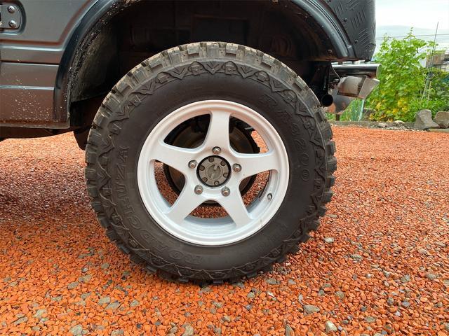 HC 4WD キタガワ3インチリフトアップ レカロシート(18枚目)