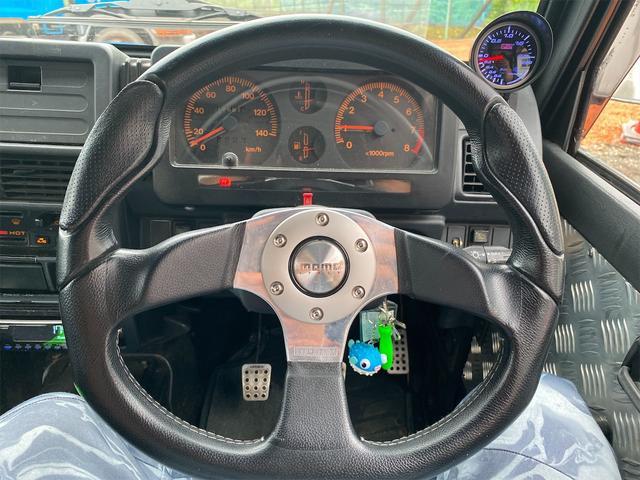 HC 4WD キタガワ3インチリフトアップ レカロシート(46枚目)