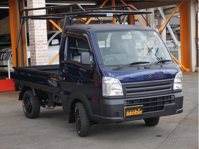 KCエアコン・パワステ農繁仕様 KC農繁仕様 4WD エアコンパワステ付 5MT車 走行キョリ100Km程度の低走行車(3枚目)