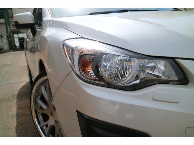 スバル インプレッサスポーツ 2.0iSアイサイト 4WD ナビ TV WORK20インチ