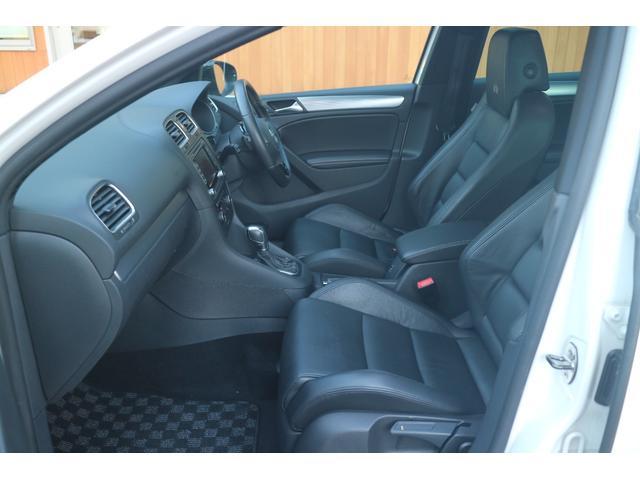フォルクスワーゲン VW ゴルフ R 純正ナビ バックカメラ 黒革シート BBS18インチAW