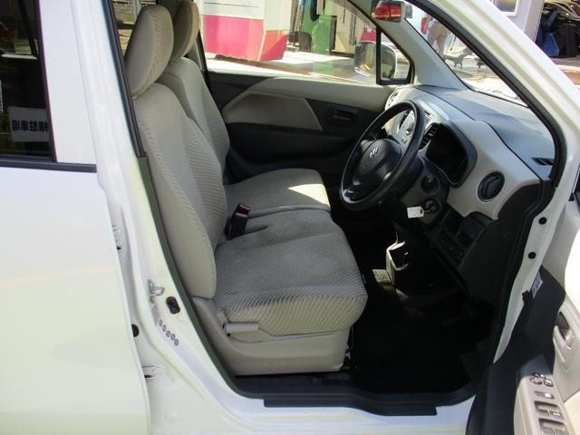 FX 4WD ワンオーナー 純正CD アイドリングストップ車 オートエアコン 運転席シートヒーター ベンチシート キーレス 社外14インチアルミホイール 電動格納ドアミラー(19枚目)