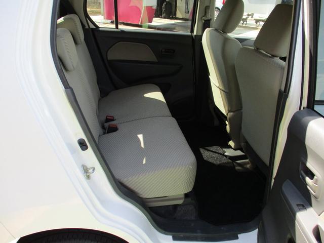 FX 4WD ワンオーナー 純正CD アイドリングストップ車 オートエアコン 運転席シートヒーター ベンチシート キーレス 社外14インチアルミホイール 電動格納ドアミラー(35枚目)