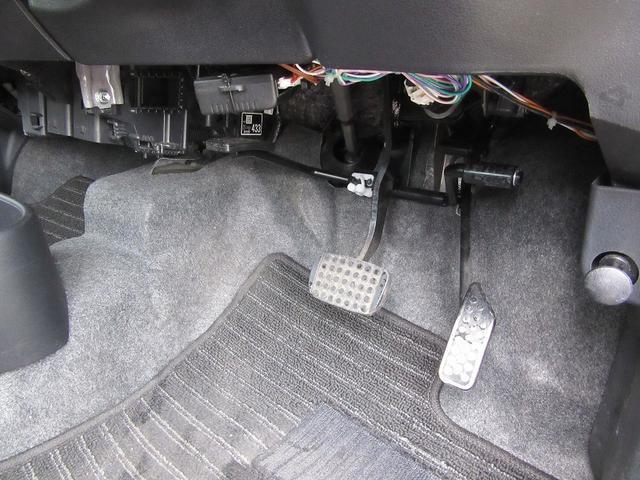 左アクセルペダル 左ウインカーレバー 福祉車両Dセレクション(9枚目)