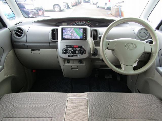 L スローパー 福祉車輌車 社外SDナビ フルセグTV(15枚目)