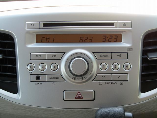■純正CDデッキ(AUX端子対応のスマホ・オーディオプレイヤーを接続できます♪)