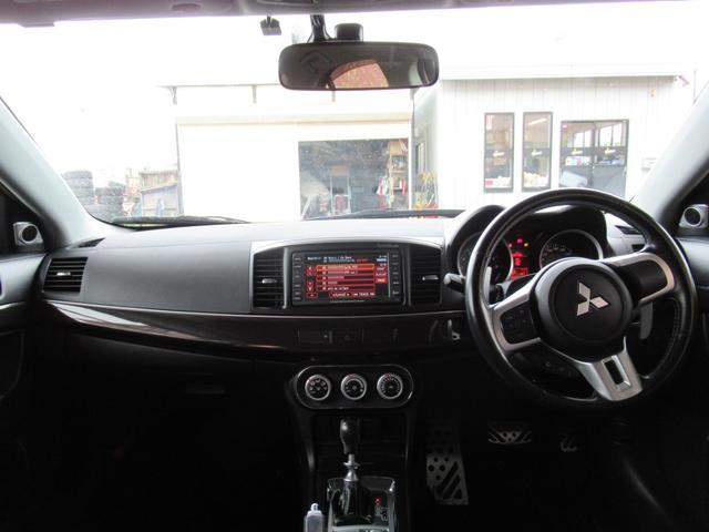 三菱 ランサー GSRプレミアムエボX4WD BBS18AW レカロ黒革