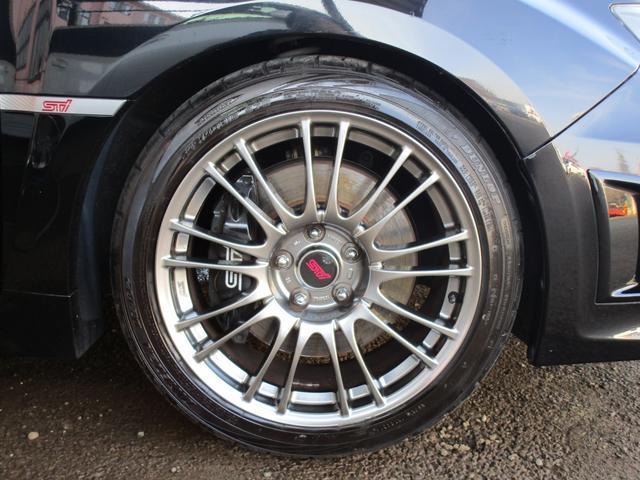 WRX STi HKS車高調 STi18インチAW・マフラー(14枚目)