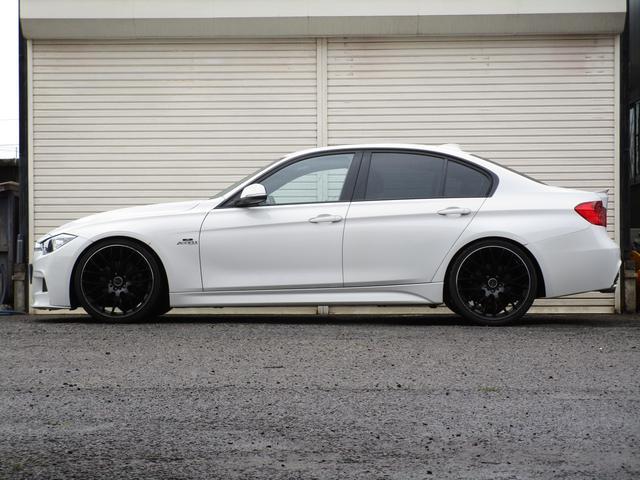 BMW BMW 320d Mスポーツ H&Rローダウンサス RAYS20AW