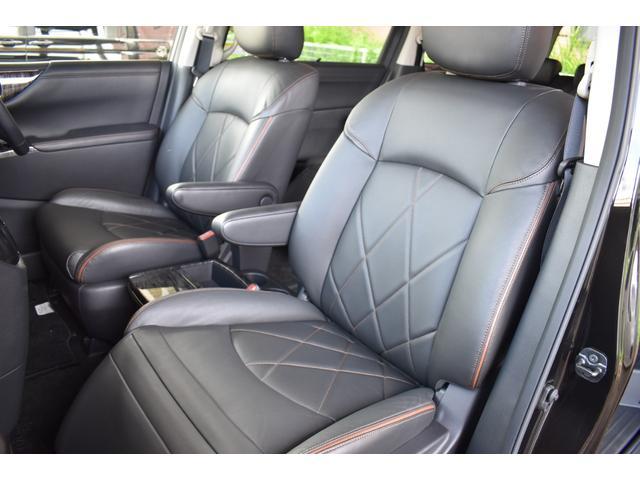 250ハイウェイスタープレミアム ロクサーニ20インチAW TEIN車高調 黒革パワーシート シートヒーター パワーバックドア 純正SDナビ・TV Bモニター ナビ連動ドラレコ ETC 両側電動スライドドア オートクルーズ(38枚目)