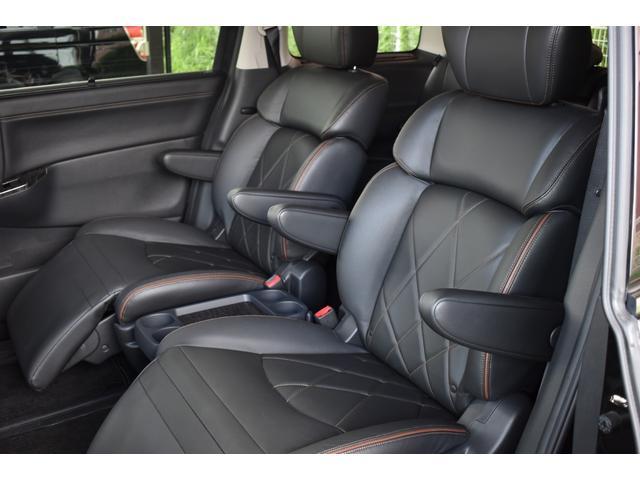 250ハイウェイスタープレミアム ロクサーニ20インチAW TEIN車高調 黒革パワーシート シートヒーター パワーバックドア 純正SDナビ・TV Bモニター ナビ連動ドラレコ ETC 両側電動スライドドア オートクルーズ(45枚目)