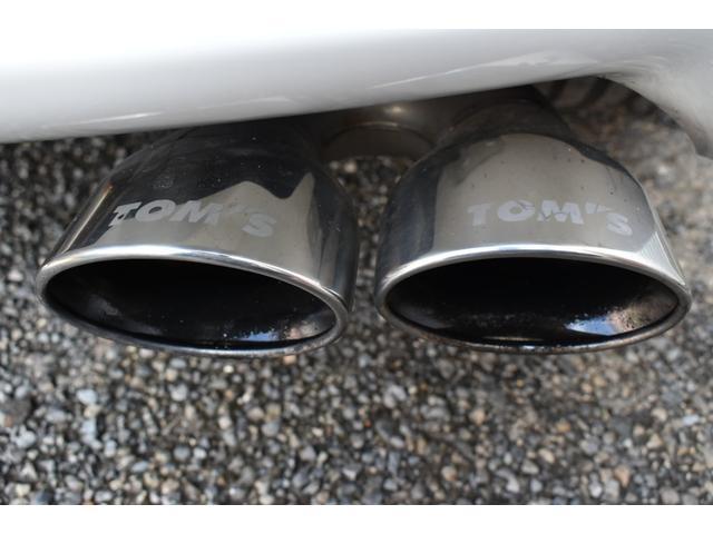 G-T 4WD TRDフルエアロ M'zSPEED20インチAW BLITZ車高調 TOM'Sマフラー Toyota Safety SenseP 純正9型ナビ シートヒーター レーダー探知機 レーダークルーズ(21枚目)
