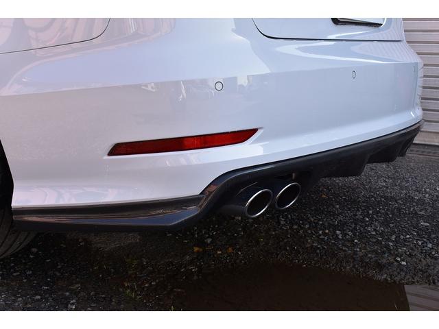 ベースグレード Schmieden18インチAW SACHS車高調 GARAGE VARYリアディフューザー 034motorsportスタビリンク 純正ナビ・TV BANG&OLUFSENサウンドシステム(16枚目)
