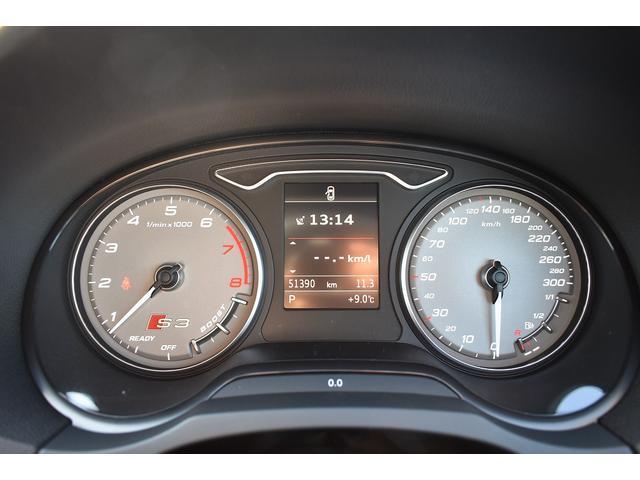 ベースグレード Schmieden18インチAW SACHS車高調 GARAGE VARYリアディフューザー 034motorsportスタビリンク 純正ナビ・TV BANG&OLUFSENサウンドシステム(18枚目)