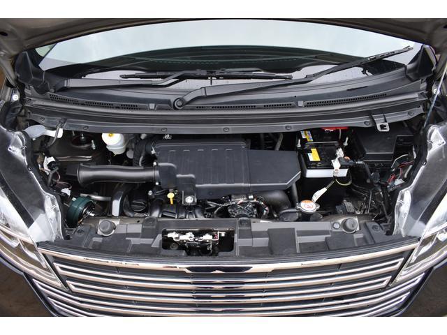 ライダー ハイウェイスターXターボベース PREMIX17インチAW BLITZ車高調 柿本改マフラー 純正ナビ・TV アラウンドビューモニター エマージェンシーブレーキ シートヒーター HIDライト ETC(57枚目)