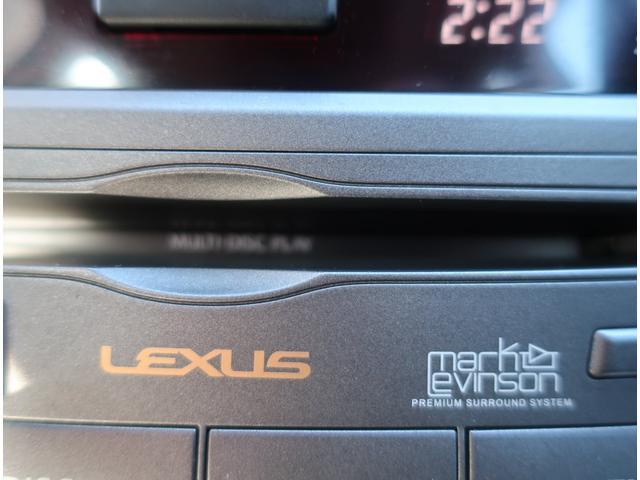 レクサス IS IS350 バージョンS マークレビンソン HDDナビ
