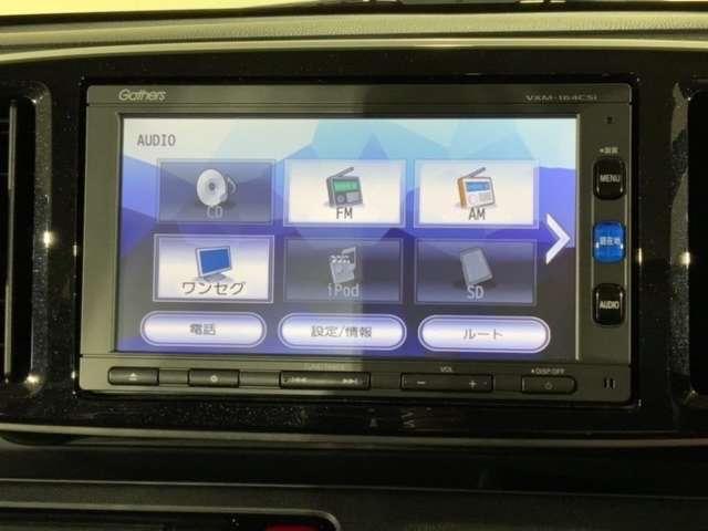 プレミアム メモリーナビ Rカメラ HIDライト ETC CD(5枚目)