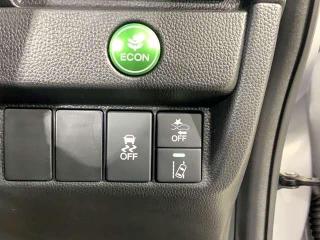 VSAが、走行中の車のタイヤのスリップを感知して、安全な走行を確保します。エコボタンで環境にも燃費にもやさしく出来ます。