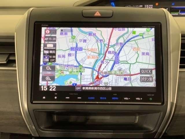 ハイブリッドEX Hセンシング 9インチMナビ 両電ドア Rカメ 左右電動スライド Bカメラ ナビTV シートヒーター LEDヘッドライト アイドリングストップ クルコン メモリーナビ ETC スマートキー アルミ(4枚目)
