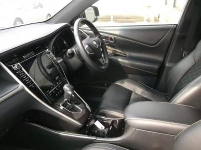 トヨタ ハリアーハイブリッド エレガンス 4WD 8インチメモリーナビ地デジマルチ