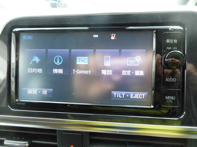 G 純正SDナビ フルセグTV バックモニター トヨタセーフティセンス キーフリープッシュスタート 両側パワースライドドア ステアリングオーディオスイッチ 社外15インチアルミホイール(10枚目)