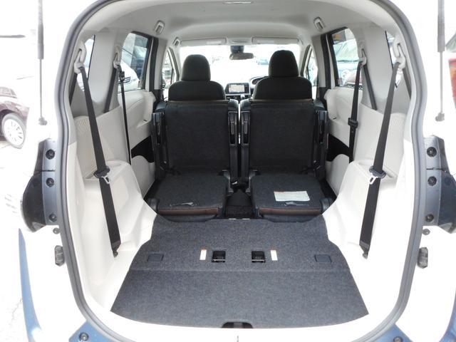 G 純正SDナビ フルセグTV バックモニター トヨタセーフティセンス キーフリープッシュスタート 両側パワースライドドア ステアリングオーディオスイッチ 社外15インチアルミホイール(18枚目)