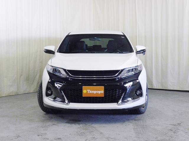トヨタ ハリアー G's 4WD  純正ナビ ハーフレザーシート