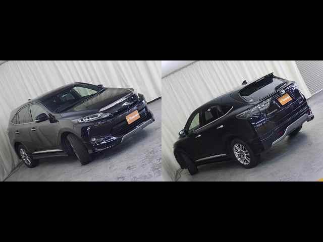 トヨタ ハリアー プレミアム アドバンスドパッケージ 4WD 純正SDナビ