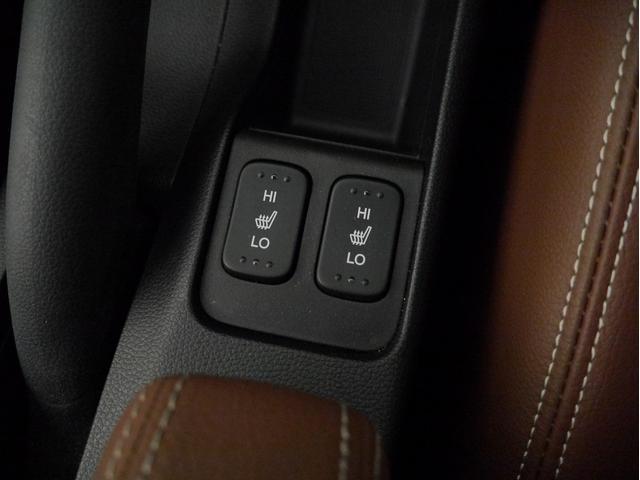 ■運転席/助手席シートヒーター