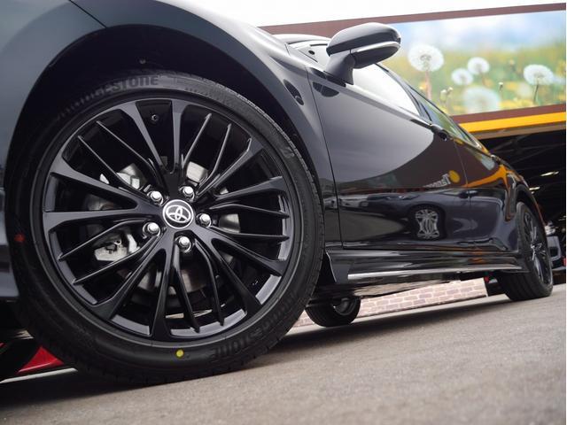 WSブラックエディション 登録済未使用車 TRDエアロパーツセット Tコネクトナビキット ディスプレイオーディオ 衝突被害軽減ブレーキ 純正18インチアルミホイール ETC2.0 スマートキー(14枚目)