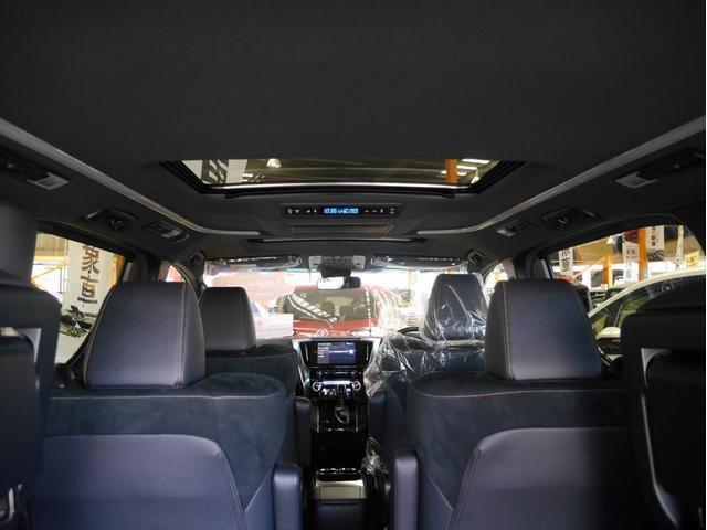 2.5Z ゴールデンアイズ 7人乗り 登録済未使用車 ツインムーンルーフ 後席ディスプレイ 純正18インチアルミホイール トヨタコネクトナビキット 両側パワースライドドア LEDヘッドライト ETC クルーズコントロール(42枚目)