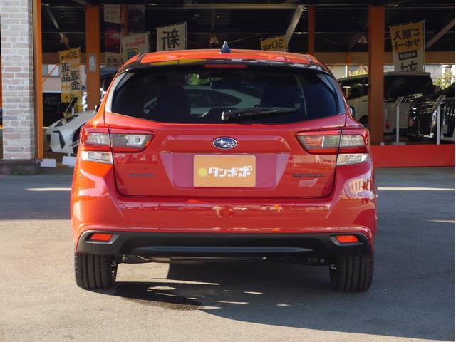 STIスポーツ 4WD 登録済未使用車 衝突被害軽減ブレーキ LEDヘッドライト アダプティブクルーズコントロール 純正18インチアルミホイール パワーシート スマートキー(8枚目)