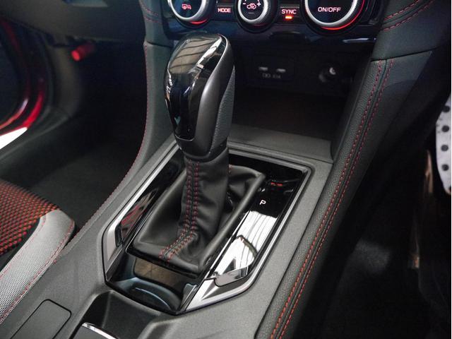 STIスポーツ 4WD 登録済未使用車 衝突被害軽減ブレーキ LEDヘッドライト アダプティブクルーズコントロール 純正18インチアルミホイール パワーシート スマートキー(19枚目)
