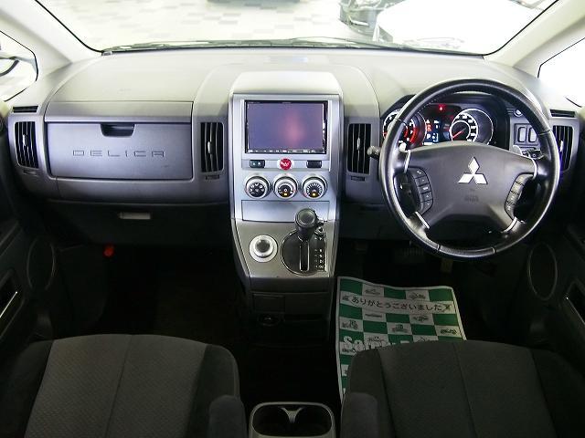 三菱 デリカD:5 GパワーPKG 4WD ツインモニター ボディリフト 地デジ