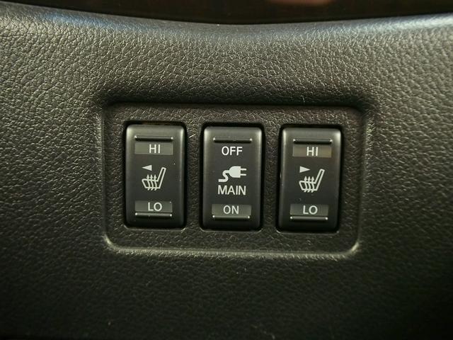 ☆本革シートにはシートヒーターが欠かせません♪